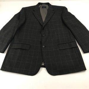 Nautica 48L Lambswool Suit Blazer Sports Coat. G7